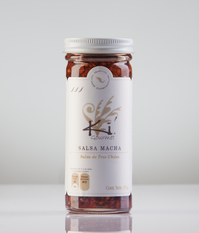 Salsa Macha (Tres Chiles)