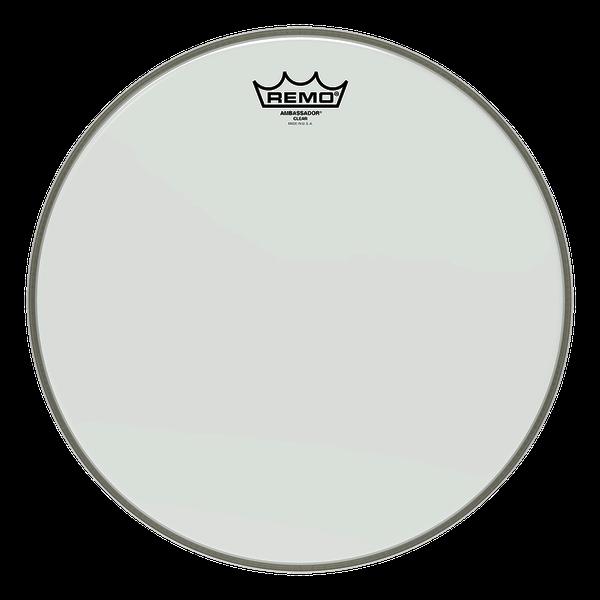 "Remo Ambassador Clear Drum Head 8"" - 18"""