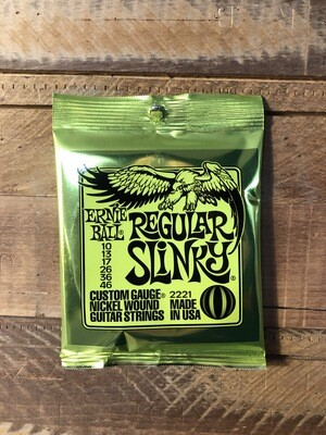 Ernie Ball Regular Slinky (10-46) Electric Guitar Strings