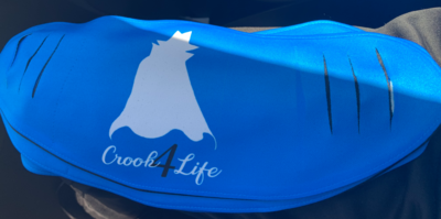Crook 4 Life Mask - BLUE
