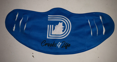 Triple D - Crook 4 Life Mask (Blue)