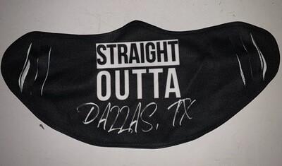 Straight Outta Dallas - Covid Mask