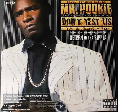 Mr. Pookie - Don't Test Us (Vinyl)