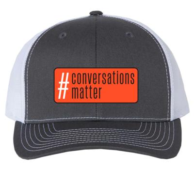 #Conversationsmatter Patch Hat
