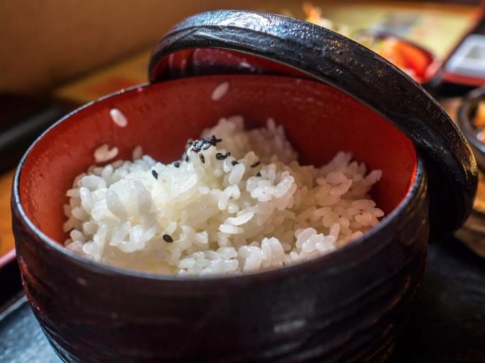 Japanese Sticky Gohan Rice