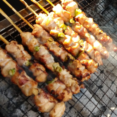Chicken & Scallion Kushiyaki