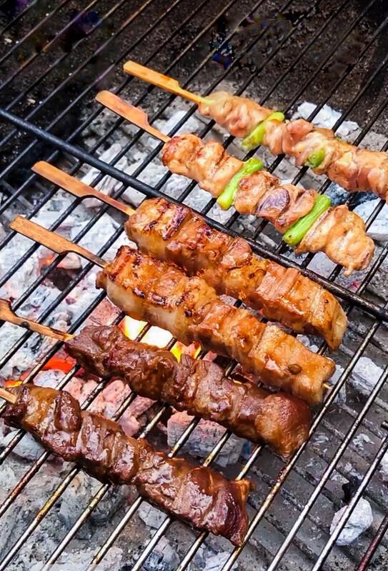 Kushiyaki Barbecue Taster Meal