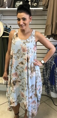 Floral Dress - One Size