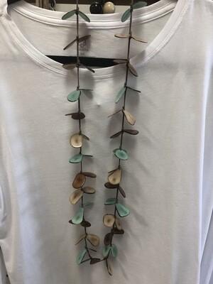 """Tagua Necklace  18"""" Long necklace Handmade.  Originally $38.99"""