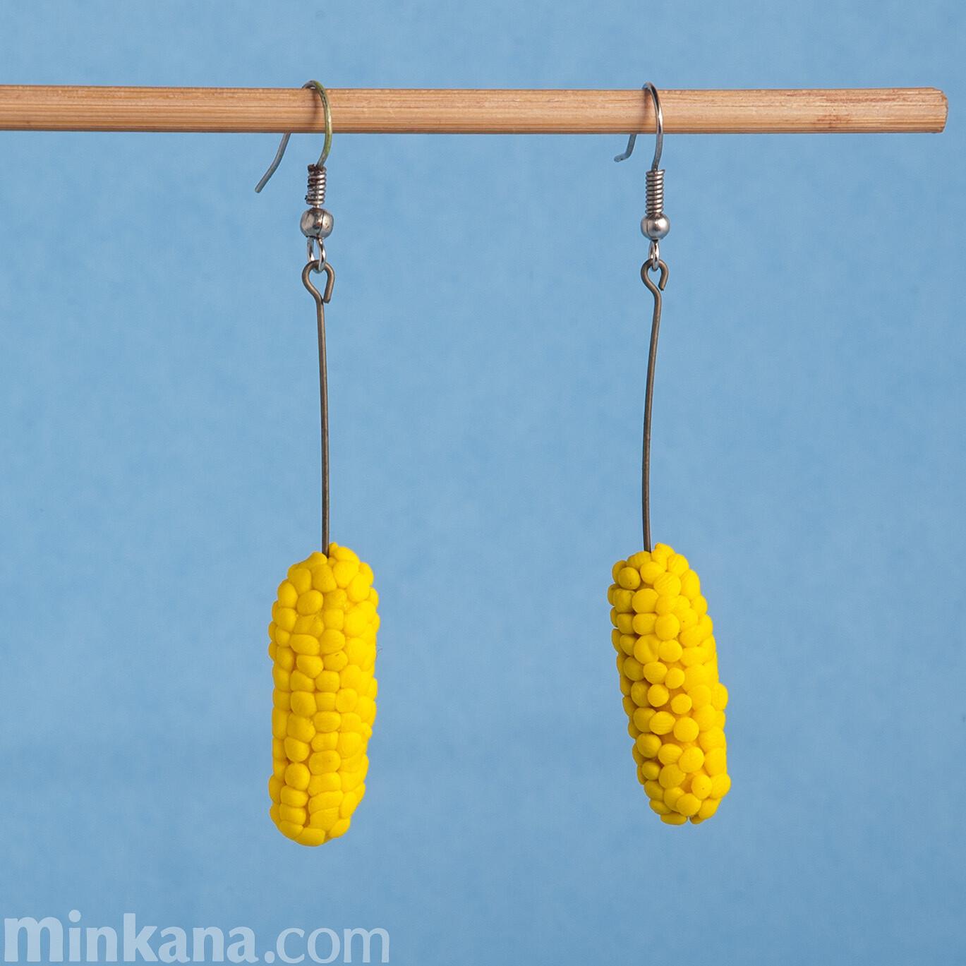 Corn Earrings