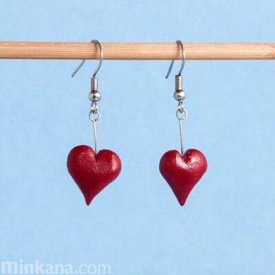 Dark Hearts Earrings