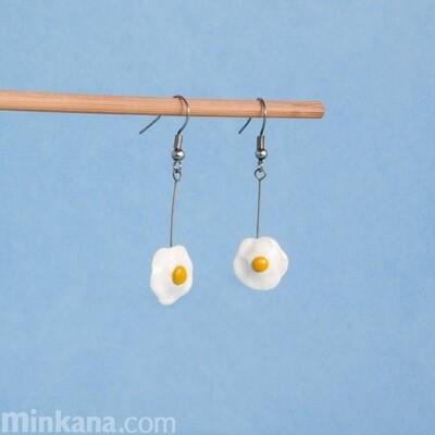 Small Fried Eggs Earrings