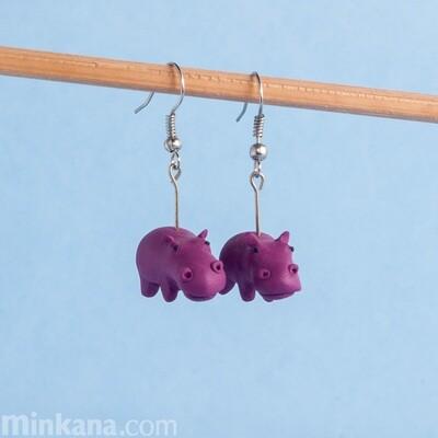 Hippos Earrings
