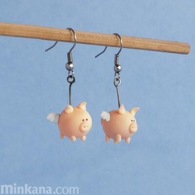 Flying Pigs Earrings