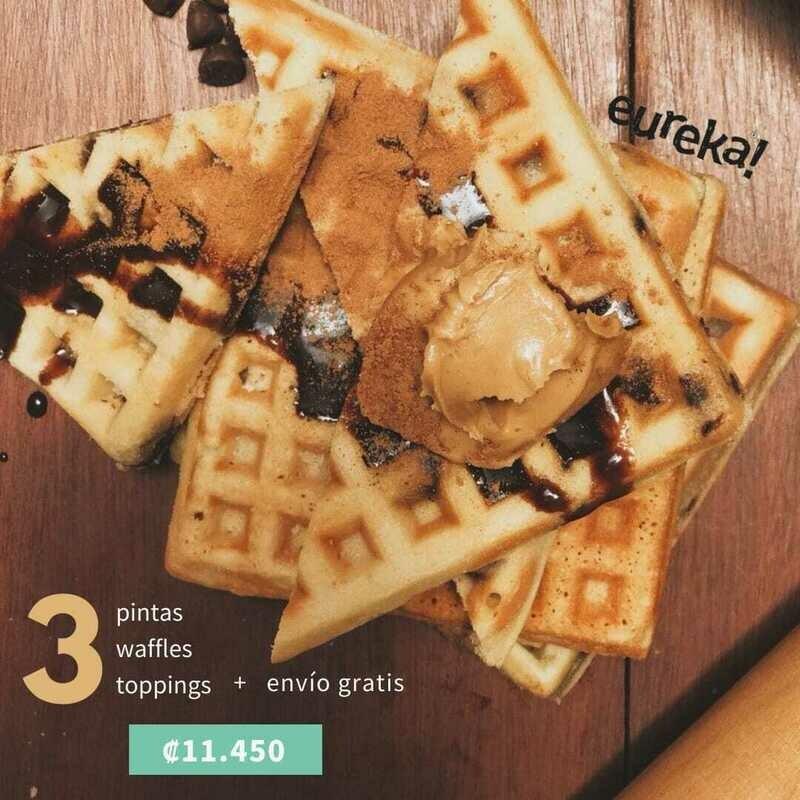 Kit Gelatos Joy-Eureka Waffles