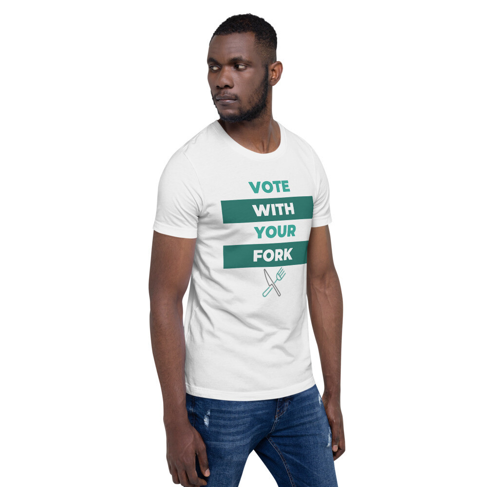 Forking Vote Short-Sleeve Unisex T-Shirt