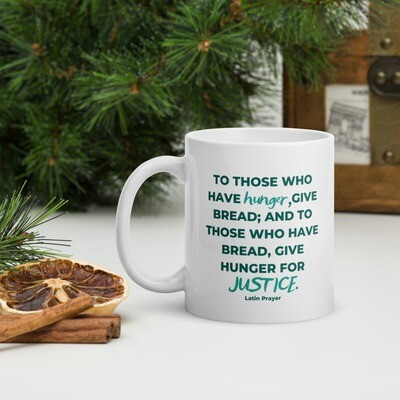 Latin Prayer Mug