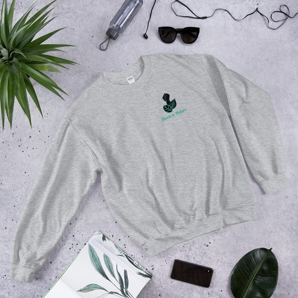 Black to Nature Unisex Sweatshirt