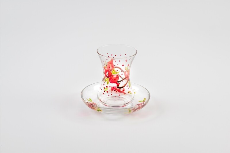 Armudu glass - Pomegranate Poem