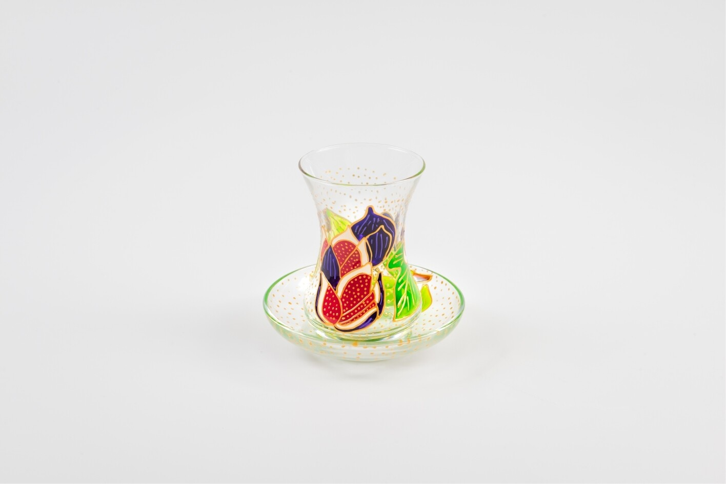 Armudu glass -Mediterranean Figs