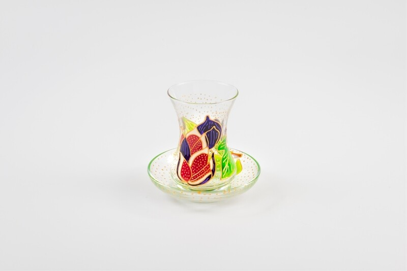 Armudu glass -Mediterranean Figs