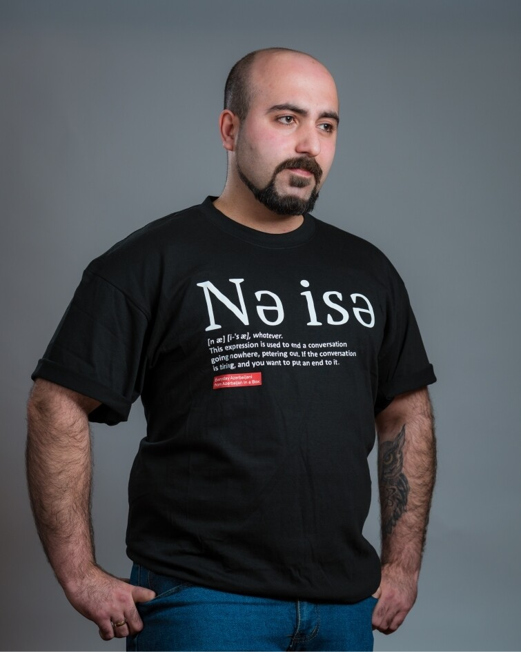 Everyday Azerbaijani T-shirts