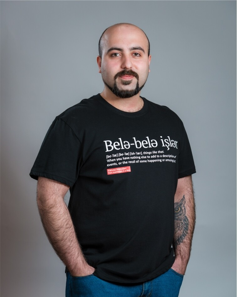Everyday Azerbaijani T-shirts
