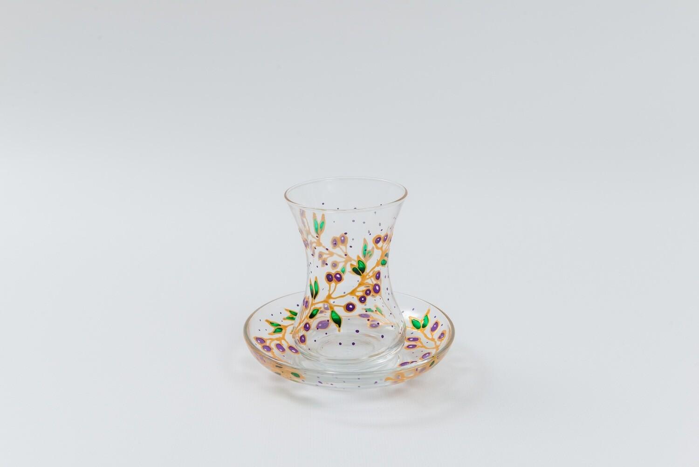 Armudu glass -Plum