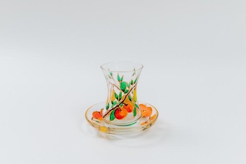 Armudu glass -Autumn Fruit
