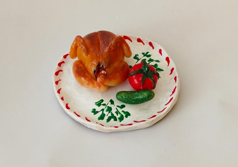 Foodtastic Magnet - Chicken Levengi