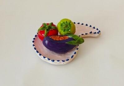 Foodtastic Magnet - Dolma Trio