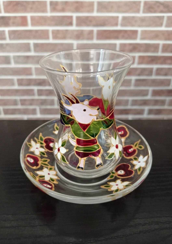 Armudu glass - 3 Little Goats