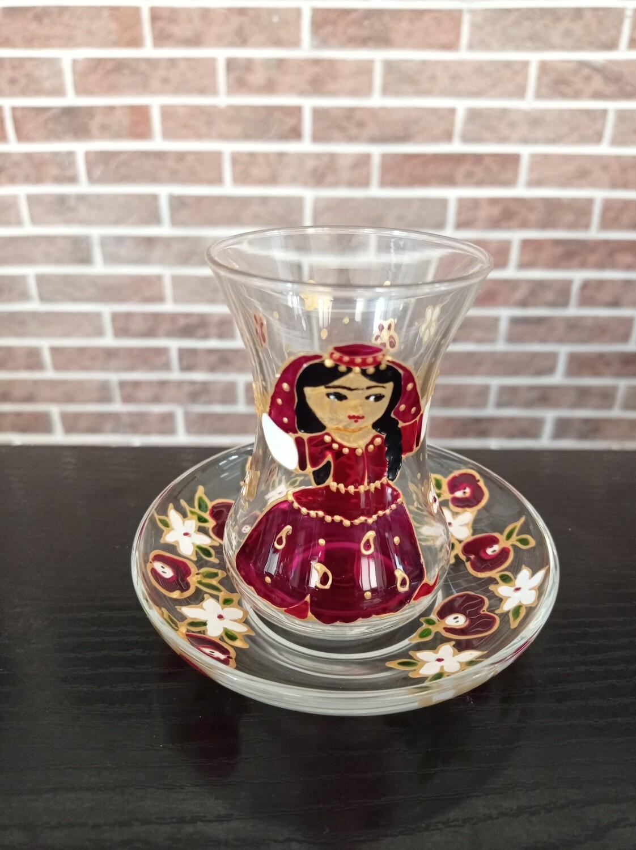 Armudu glass - Pretty Fatma