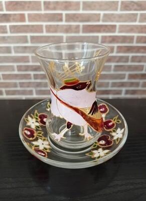 Armudu glass - Sparrow Musician