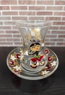 Armudu glass - Tiq-Tiq knanum