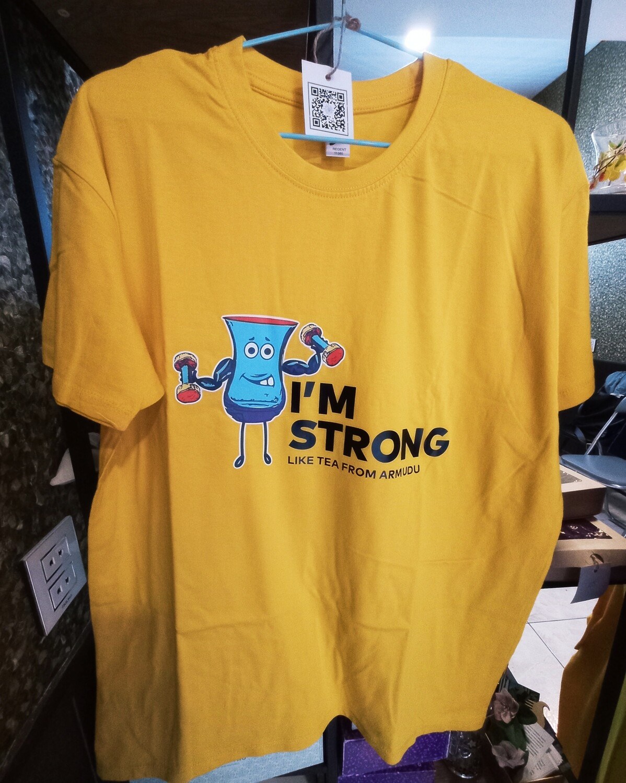 Armudumania T-shirts: I am Strong