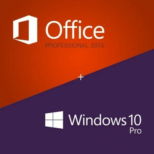 Цифровой ключ активации Windows 10 Pro и Office 2016 Pro