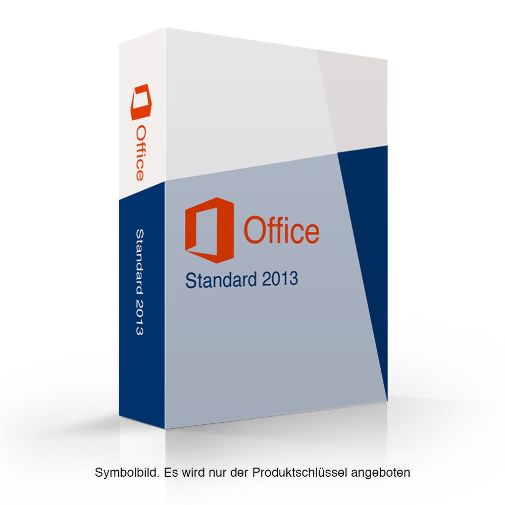 Цифровой ключ активации Microsoft Office 2013 Standard для 1 ПК