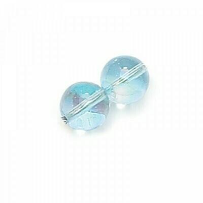 3mm Czech Round Druk Beads - Alexandrite AB