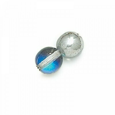 3mm Czech Round Druk Beads - Heliotrope