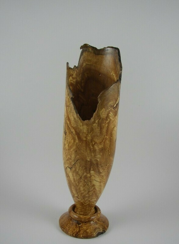 Maple Burl Vase