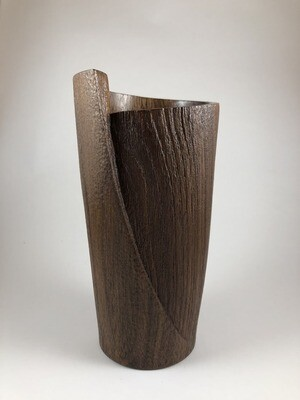 Walnut Vase