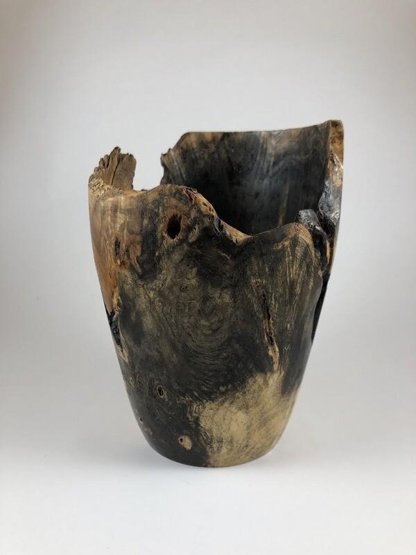 Buckeye Burl Vase