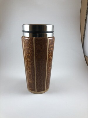Lacewood and Maple  Travel Mug