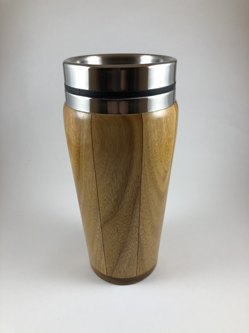 Canary Wood Travel Mug