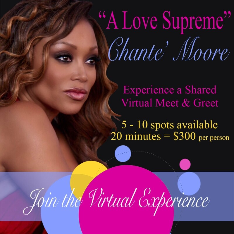 """""""A Love Supreme"""" Shared Meet & Greet with Chante' Moore"""