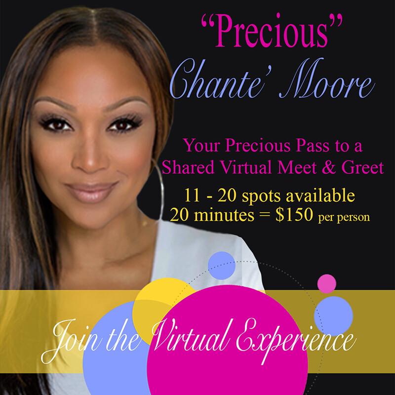 """Precious"" Shared Meet & Greet with Chante' Moore"