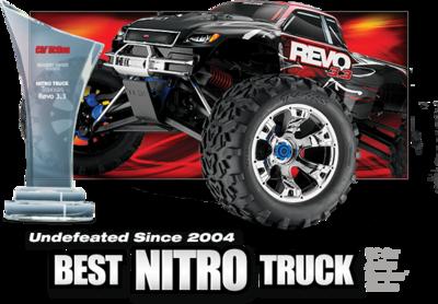 REVO 3.3 4WD NITRO MONSTER TRU