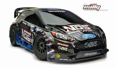 FORD FIESTA ST RALLY 1/10 SCALE