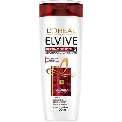 Shampoo Elvive Reparación Total 5 400 cc.